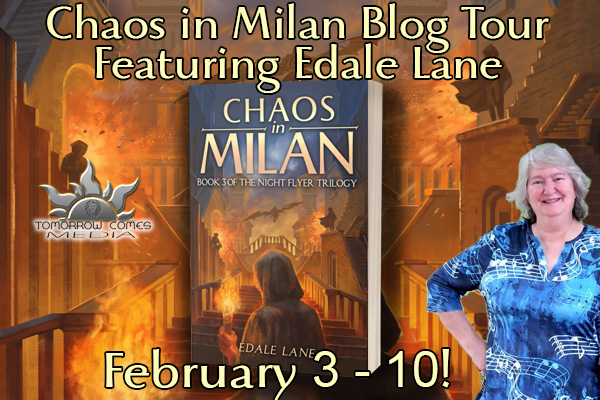 Best Writing Tips from Edale Lane author of Chaos in Milan