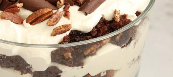 Christmas Recipes : Chocolate Praline Trifle